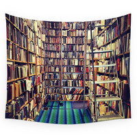 Society6 Books Wall Tapestry