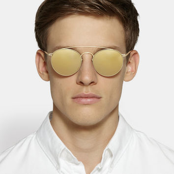 Maison Martin Margiela - Mykita Round-Frame Mirrored Metal Sunglasses | MR PORTER