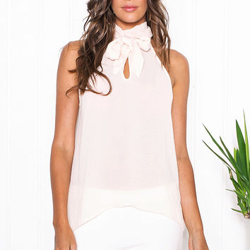 Kaisa Chiffon Sleeveless Top