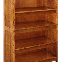 "Stealth - Arts & Crafts Mission ""Hidden Drawer"" Bookcase"