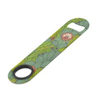 Cactus Flower Pattern Speed Bottle Opener