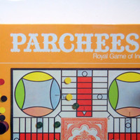 Vintage Parcheesi Board Game Brand New 1982