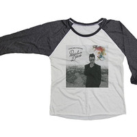 Panic! Panic At The Disco Shirt T-Shirt Jersey Baseball Raglan Tee 3/4 Sleeve Unisex Shirts Women S M L XL