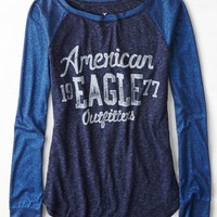 AEO 's Signature Graphic Baseball T-shirt