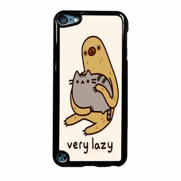 Pusheen Cat And Sloth iPod Touch 5th Generation Case