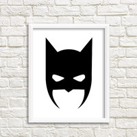 prints for boys room batman room Art for Nursery Teen Boys Room Decor joker and harley joker art joker gift print joker mask super hero art