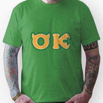 Monster University Fraternity  : Oozma Kappa Unisex T-Shirt