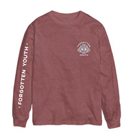 Coral 'Astral Chart' Long-sleeve
