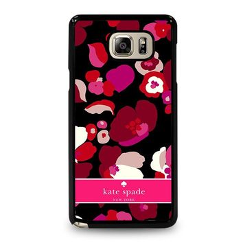 KATE SPADE NEW YORK FLORAL Samsung Galaxy Note 5 Case Cover