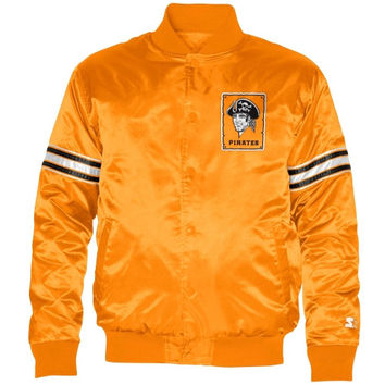 Starter Pittsburgh Pirates Cooperstown Collection Satin Jacket - Gold