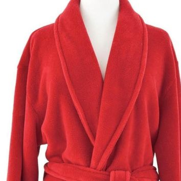 Sheepy Fleece Crimson Robe