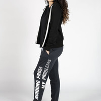 Running From My Problems unisex joggers