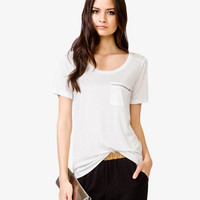 Zippered Pocket Tee