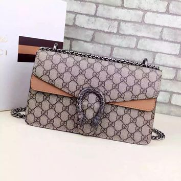 Gucci Dionysus GG Supreme Shoulder Bag 400249511