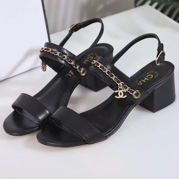 Chanel Women Fashion Casual Sandals Shoes