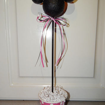 Minnie Mouse Centerpiece - Minnie Mouse Birthday Decoration