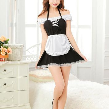Sexy Cleaning Maid Costume Fantasy Adult Maid Cosplay To Clean Costume Halloween Costume for Women
