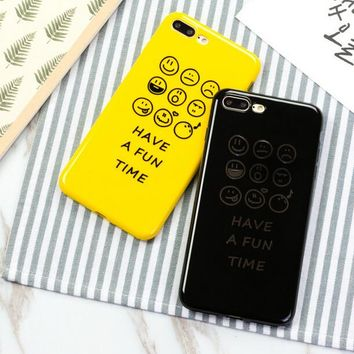 FUN TIME Pattern Case for iPhone X 8 7 6S Plus &Gift Box