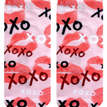 XOXO Ankle Socks