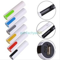 Portable Power Bank Backup External Battery Charger 18650 for Phone Mobile C#P5