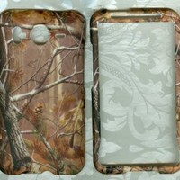 HTC Realtree Camo Rubberized Hard Shell Case Cover For HTC Inspire 4G AT&T Phone