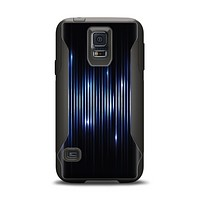 The Glowing Blue WaveLengths Samsung Galaxy S5 Otterbox Commuter Case Skin Set