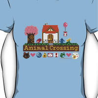 Animal Crossing home sampler Women's T-Shirt
