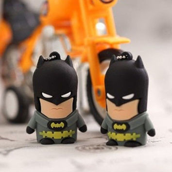 American film classic characters batman  8GB 16GB 32GB USB flash drive Memory Stick Pen Drive for new year gifts