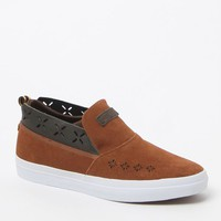 Diamond Supply Co Folk Slip-On Shoes - Mens Shoes - Brown
