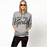 'The Jillian' Graphic Print Sweatshirt Hoodie