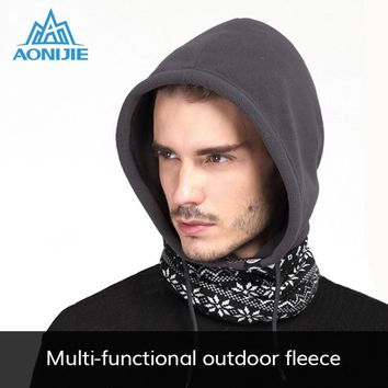AONIJIE Winter Fleece Hat Kid Children Balaclava Face Cover Cycling Bike Bicycle Ski Mask Scarf
