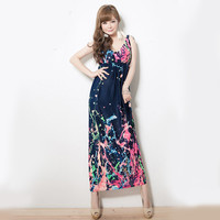 Plus Size Prom Dress Maxi Dress One Piece Dress [6328833281]