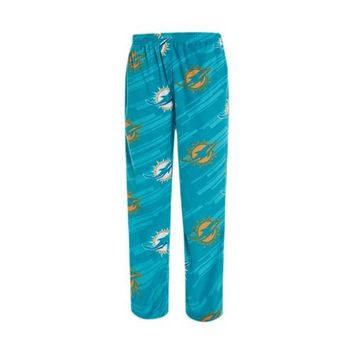 Miami Dolphins Mens Grandstand AOP Microfleece Pants