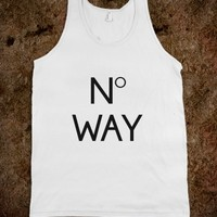 NO WAY DESIGN TOP