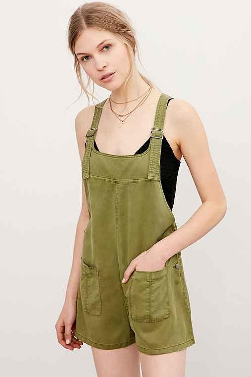 9be609be0c BDG Nicki Overall Romper from Urban Outfitters