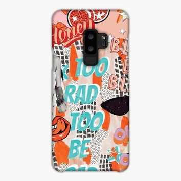 Too Rad Too Be Sad Collage Samsung Galaxy S9 Case
