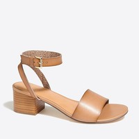Block-heel sandals : FactoryWomen Occasion | Factory