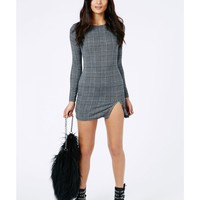 Missguided - Andzia Dogtooth Mini Dress