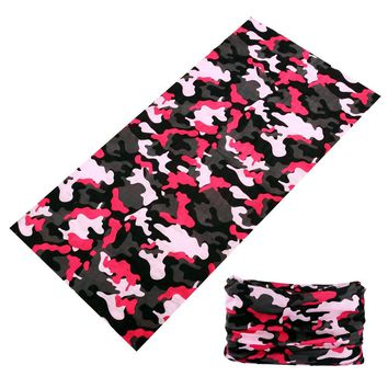 Sports Neck Gaite Camo buffe Bicycle Camouflage Hunting Bandana Men Braga Cuello Outdoor Baff Cycling Face Shield Women Scarves
