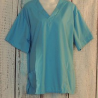 Natural uniforms Size Large Blue Scrubs