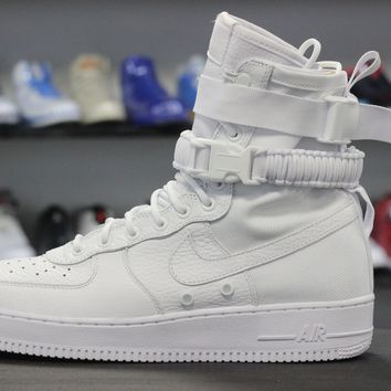 auguau Nike Special Field Air Force 1 Triple White