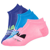 Women's adidas Originals Trefoil 3-Pack No Show Socks