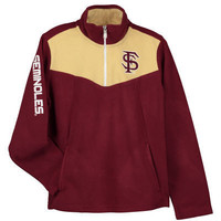 NCAA Florida State Seminoles Youth Break Point Quarter-Zip Micro Fleece Jacket