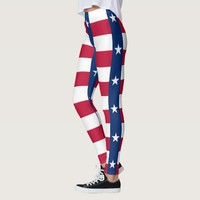 Leggings with flag of Texas, USA