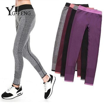 YGFENG Fashion Women's Pants For Adventure Time Bodybuilding Jeggings Clothes Women Elastic Quick Drying Workout Leggings Pants