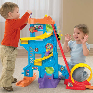 Toddler Rollercoaster Wheelies and Loops Mini Car Vehicles Play Toy Set