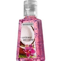 Bath and Body Works Anti-Bacterial PocketBac Deep Cleansing Hand Gel Caribbean Escape