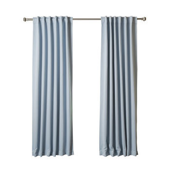 Beachcrest Home Sweetwater Curtain Panel (Set of 2)