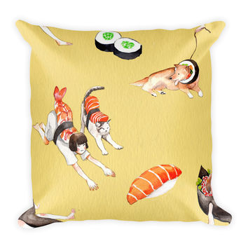 Sushi Princess Pillow