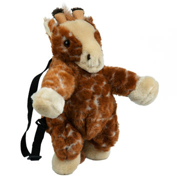 Giraffe Plush Backpack